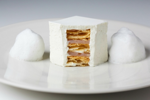 La Dame De Pic The White Millefeuille